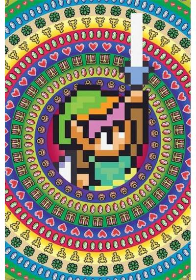 Poster La Leyenda de Zelda Coleccionables (The legend Of Zelda Collectables) (POSTER 61 x 91,5)