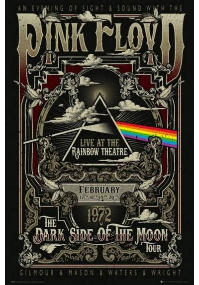 Poster Pink Floyd: Rainbow Theatre (POSTER 61 x 91,5)