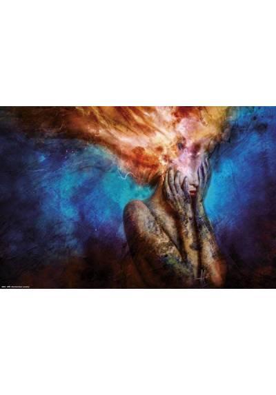 Poster Horizontal Psycho Climatic - Mario Sanchez Nevado (POSTER 91,5 x 61)