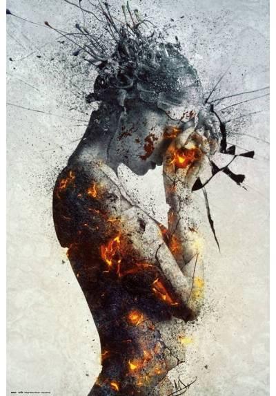 Poster Delibertacion del Nevado - Mario Sanchez (POSTER 61 x 91,5)