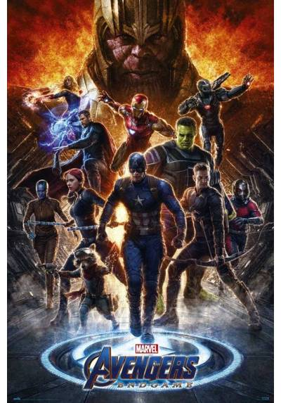 Poster Los Vengadores: Endgame 2  (POSTER 61 x 91,5)