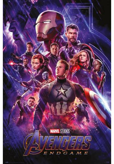 Poster Los Vengadores: Endgame (POSTER 61 x 91,5)