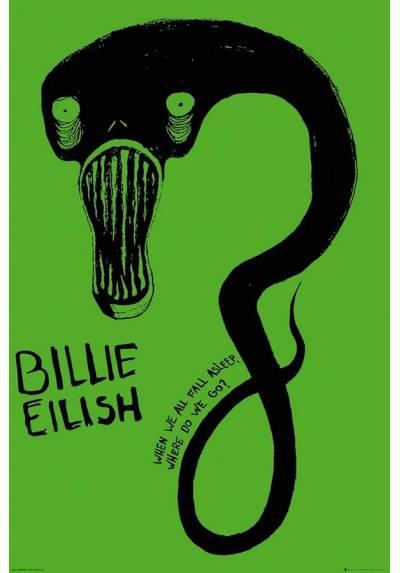 Poster Ghoul - Billie Eilish (POSTER 61 x 91,5)
