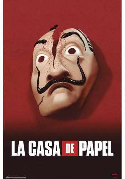 Poster La Casa de papel - Mascara (POSTER 61 x 91,5)