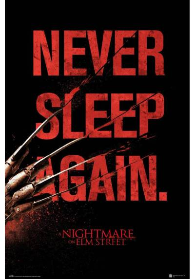 Poster Pesadilla en Elm Street - Nunca Duermas Otra Vez (Never Sleep Again) (POSTER 61 x 91,5)