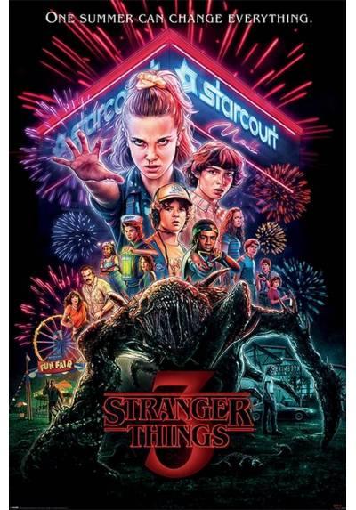 Poster Stranger Things 3 - Verano del 85 (POSTER 61 x 91,5)