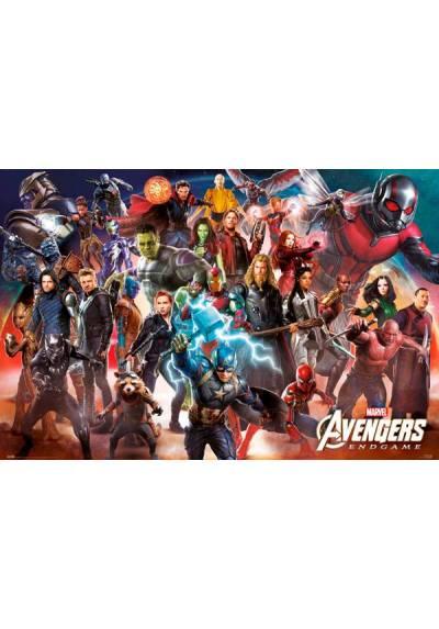 Poster Horizontal Marvel Avengers: Endgame - Alinecion Final (POSTER 91,5 x 61)