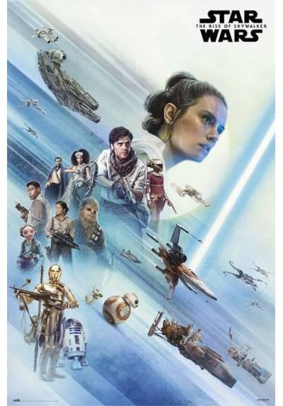 Poster Star Wars: Episodio IX - El Ascenso de Skywalker (POSTER 61 x 91,5)