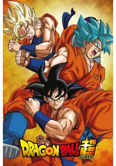 Poster Dragon Ball: Super Goku (POSTER 61 x 91,5)