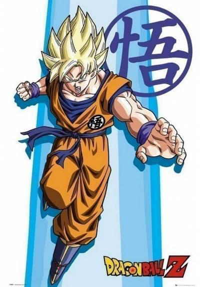 Poster Dragon Ball Z - SS Goku (POSTER 61 x 91,5)