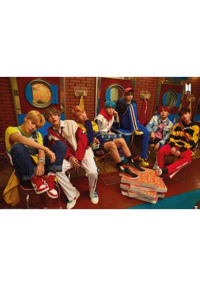 Poster Horizontal BTS - Pizza (POSTER 91,5 x 61)
