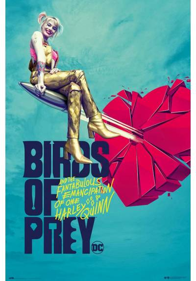 Poster Aves de Presa: Corazon Roto (POSTER 61 x 91,5)