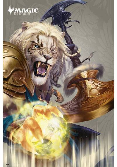 Poster Magic: El encuentro Ajani (The Gathering Ajani) (POSTER 61 x 91,5)