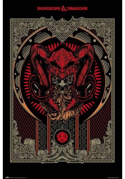 Poster Dragones y Mazmorras - Manual del Jugador (POSTER 61 x 91,5)
