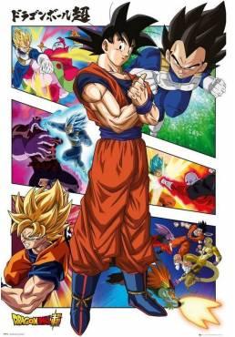 Poster Dragon Ball - Paneles (POSTER 61 x 91,5)