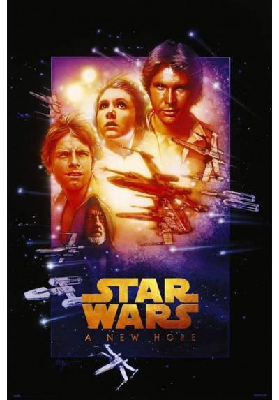 Poster Star Wars - Edicion Especial de Nueva Esperanza (POSTER 61 x 91,5)