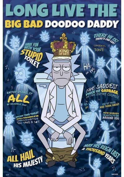 Poster Rick y Morty - Padre Doodoo (POSTER 61 x 91,5)