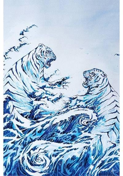 Poster La Olas Grash - Marc Allante (POSTER 61 x 91,5)