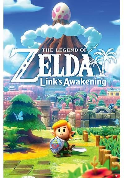 Poster La Leyenda de Zelda - Enlances (POSTER 61 x 91,5)