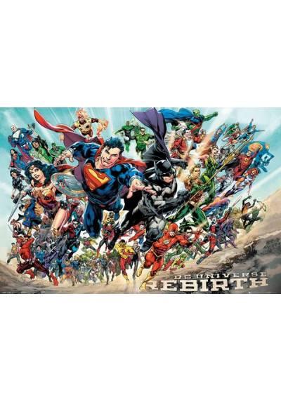 Poster Horizontal DC Comics - Renacimiento (POSTER 91,5 x 61)