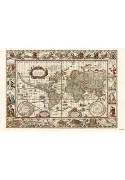 Poster Mapa del Mundo Antiguo (POSTER 91,5 x 61)
