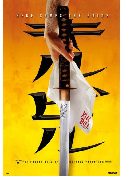 Poster Kill Bill - Ahi Viene La Novia (POSTER 61 x 91,5)