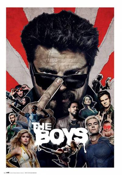 Poster The Boys - Temporada 2 (POSTER 61 x 91,5)