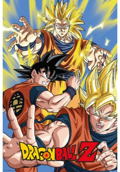 Poster Dragon Ball Z - Goku (POSTER 61 x 91,5)