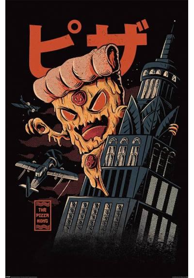 Poster Pizza Kong - Ilustrata  (POSTER 61 x 91,5)