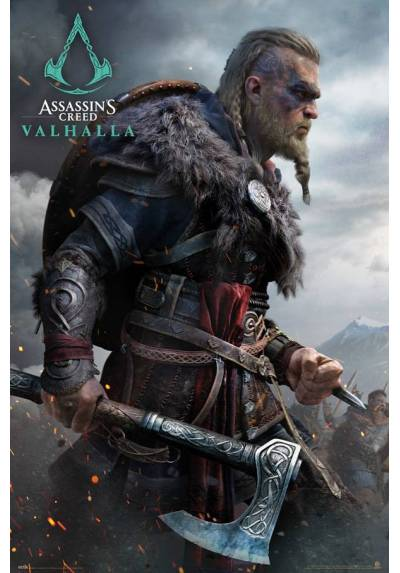 Poster Assassins Creed - Valhalla 1 (POSTER 61 x 91,5)