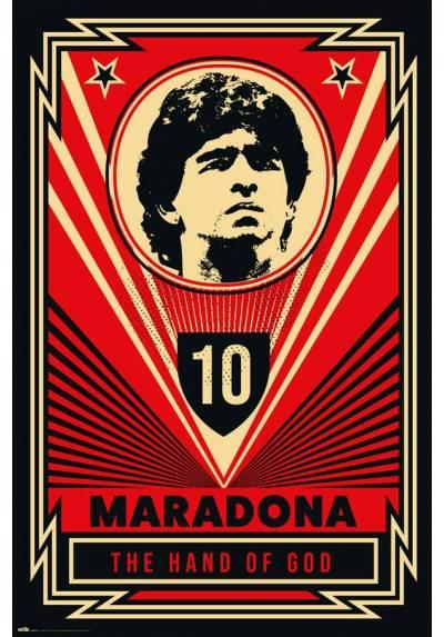 Poster Maradona - La Mano de Dios (POSTER 61 x 91,5)