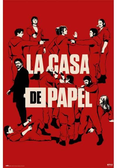 Poster La Casa de Papel - Todos Los Personajes (POSTER 61 x 91,5)