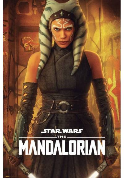 Poster Star Wars - The Mandalorian: Ahsoka tano (POSTER 61 x 91,5)