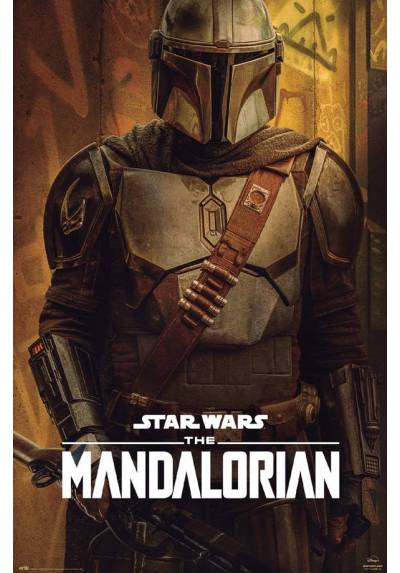 Poster Star Wars - The Mandalorian Temporada 2 (POSTER 61 x 91,5)