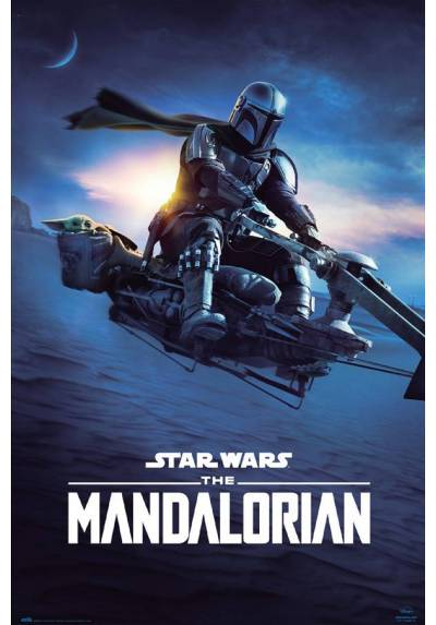Poster Star Wars - The Mandalorian Speedder (POSTER 61 x 91,5)