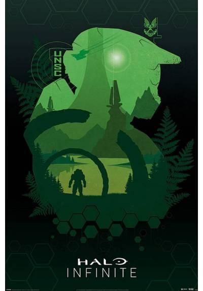Poster Lado del Lago - Halo Infinite (POSTER 61 x 91,5)