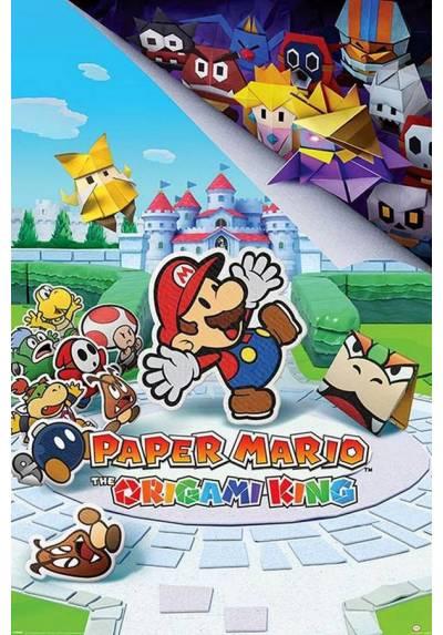 Poster Super Mario: Rey de Origami (POSTER 61 x 91,5)