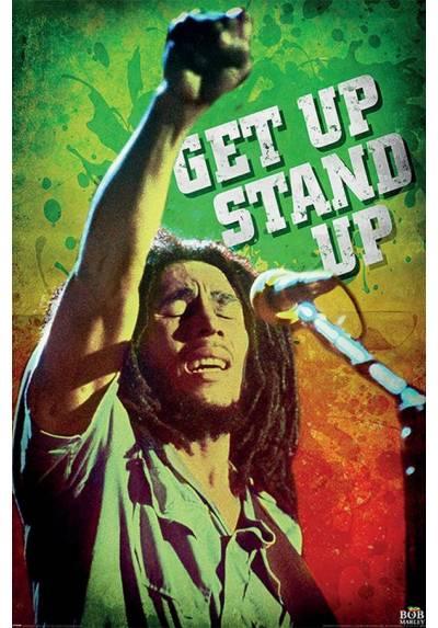 Poster Bob Marley - Levantate, Ponte De Pie (POSTER 61 x 91,5)