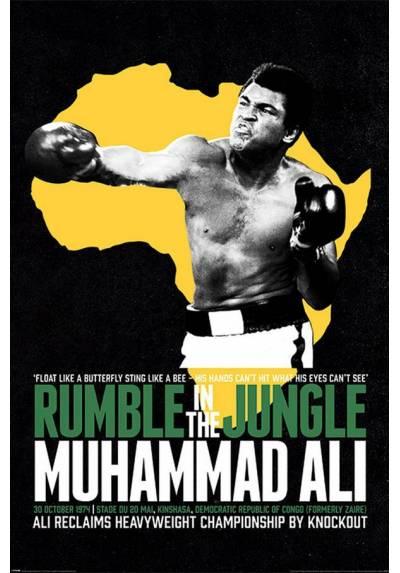 Poster Rumble En La Jungla - Muhammad Ali (POSTER 61 x 91,5)