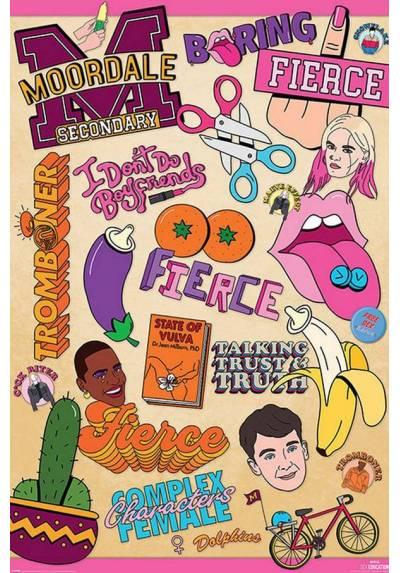 Poster Infografia de Educacion Sexual (POSTER 61 x 91,5)