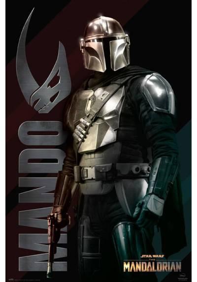 Poster Horizontal Star wars - Mando (POSTER 61 x 91,5)