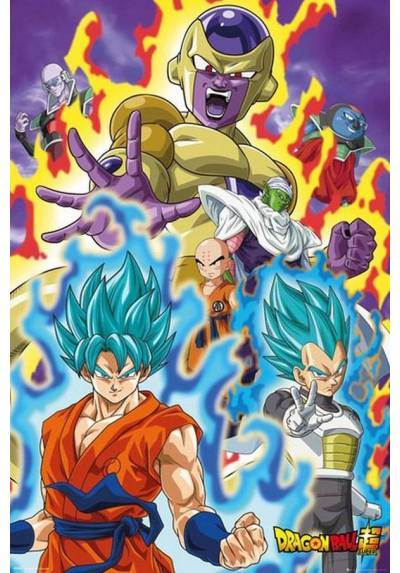 Poster Dragon Ball - Super Dios (POSTER 61 x 91,5)