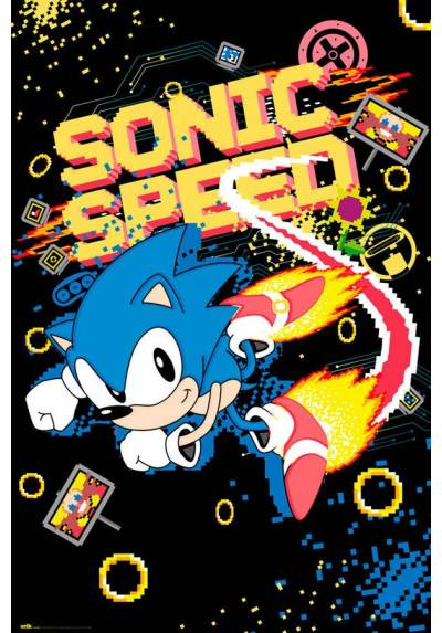 Poster Sonic: Velocidad (POSTER 61 x 91,5)