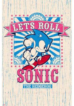 Poster Sonic: Vamos A Rodar (POSTER 61 x 91,5)