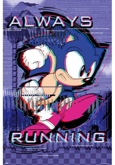 Poster Sonic: Siempre Corriendo (POSTER 61 x 91,5)