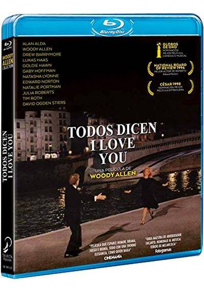 Todos dicen I love you (Blu-ray) (Everyone Says I Love You)