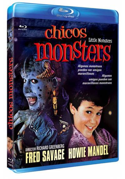 Chicos Monsters (Blu-ray) (Little Monsters)