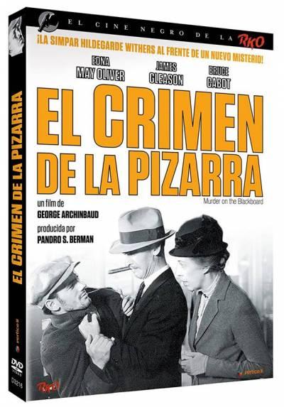 Cine Negro RKO: El Crimen De La Pizarra (Murder on the Blackboard)