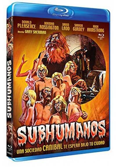 Subhumanos (Blu-ray) (Bd-R) (Death Line) (Raw Meat)