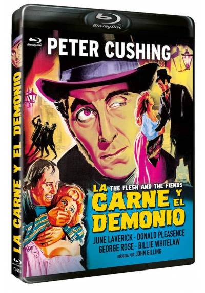 La carne y El Demonio (Blu-ray) (The Flesh and the Fiends)